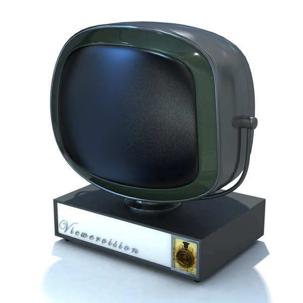 3ds max retro tv 06