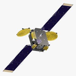3d model orbiting geo cob