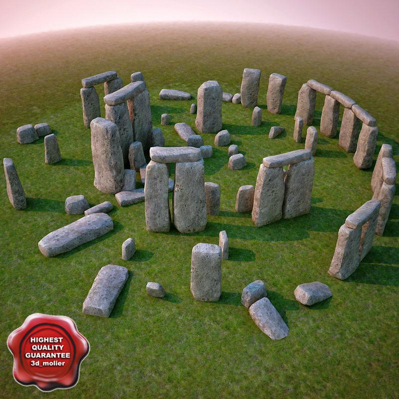 xsi realistic stonehenge
