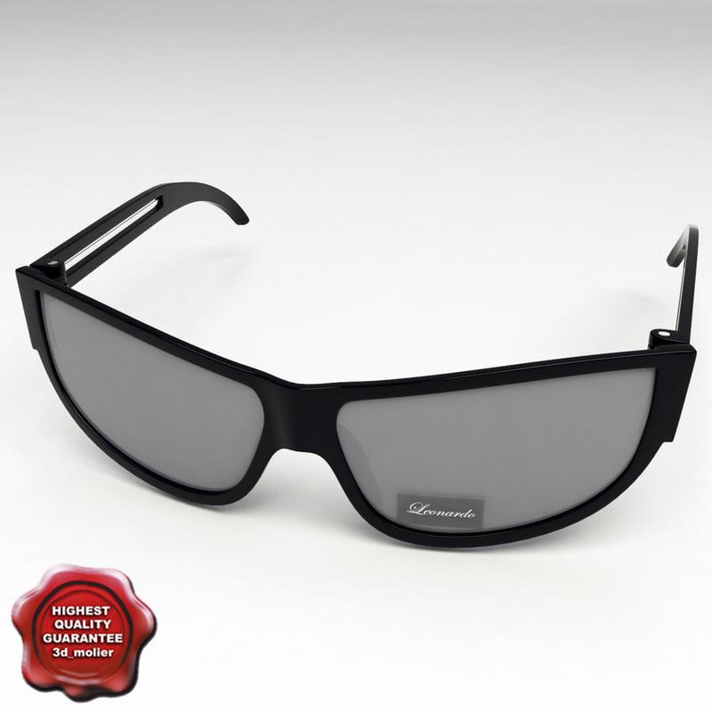 3ds max sunglasses v4 glass