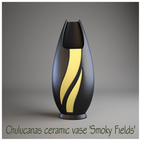 Chulucanas ceramic vase Smoky Fields