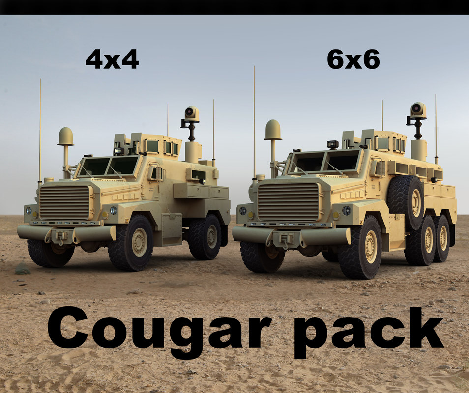 military cougar max