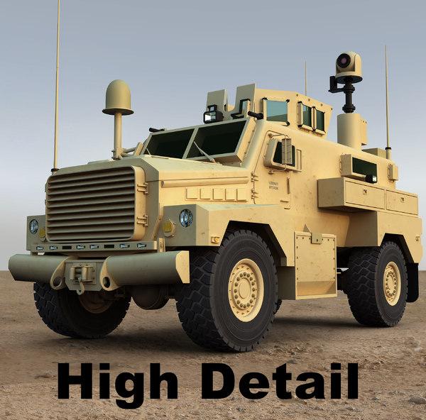 3d model cougar h