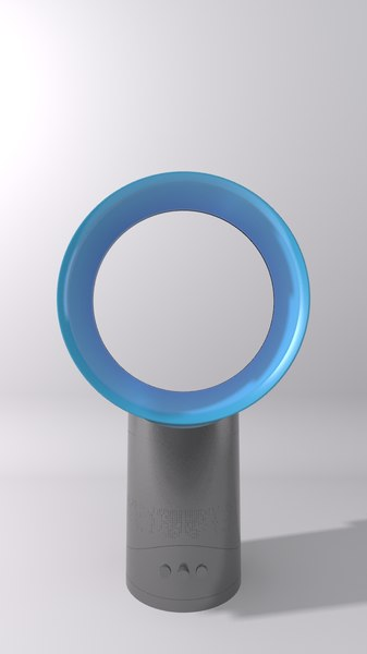 3d model dyson air multiplier fan