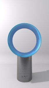 3d model dyson air multiplier fan