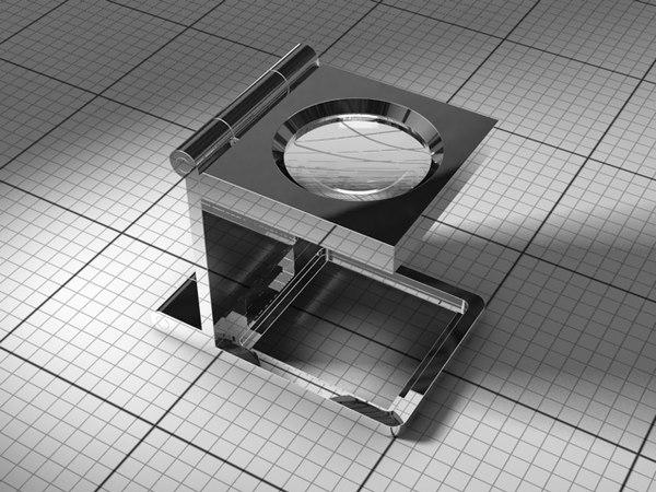 3d model thread counter