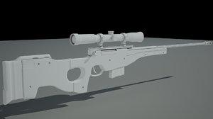 maya aw sniper rifle