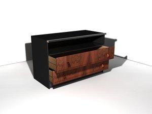 3d max buffet cabinet