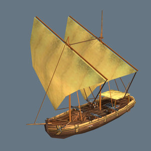 3ds gajeta class boat ship