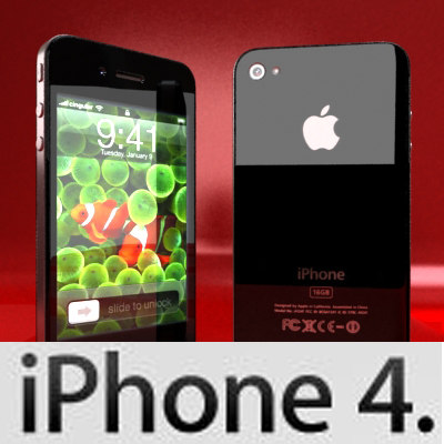 3ds max apple iphone 4
