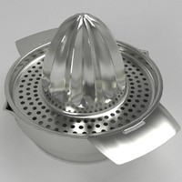 3d citrus juicer squeezer model