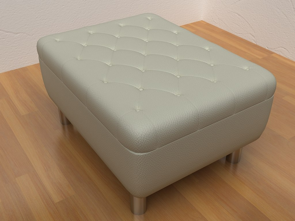 3ds leather sofa 1