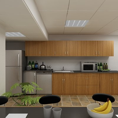 3d kitchen