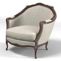3dsmax mossonnier classic chair