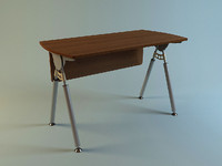 office table 3d model