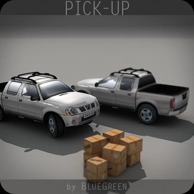 realtime pickup 3d model