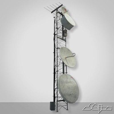 tower antenna 3d max
