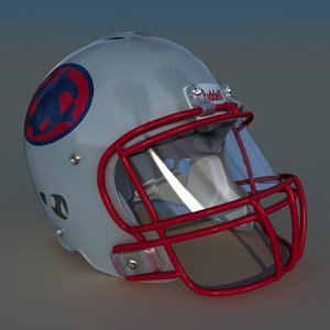 3d revo football helmet