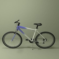mountain bike 3d max
