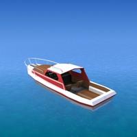 3d model ship yacht