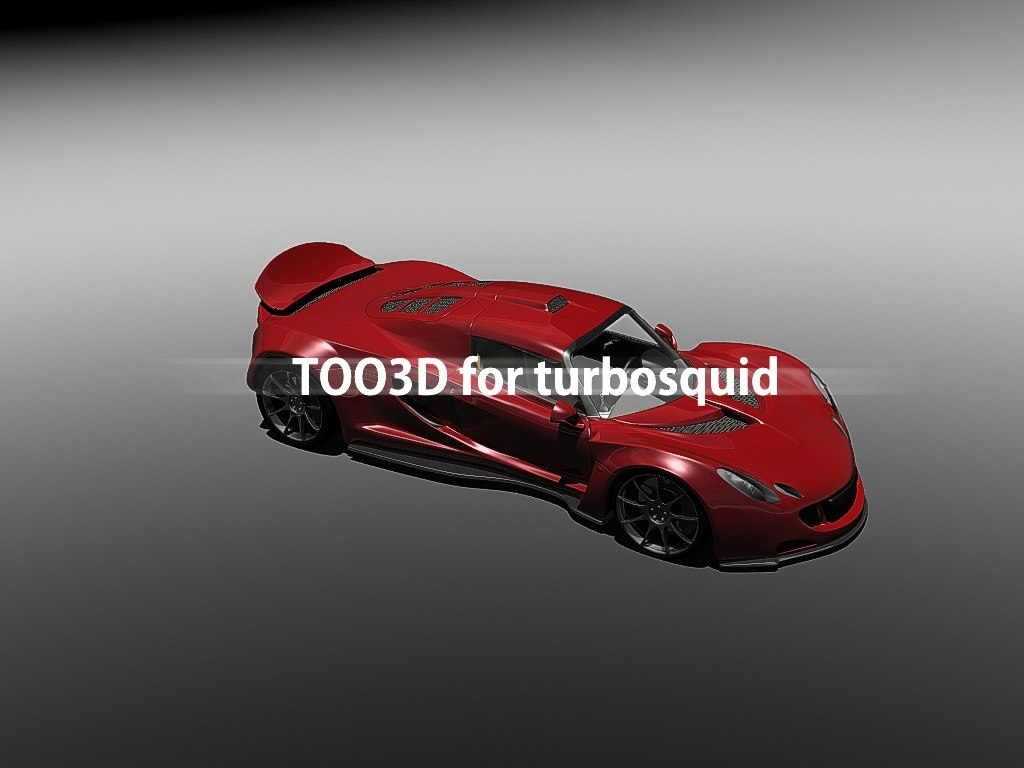 3d model hennessey venom gt interior
