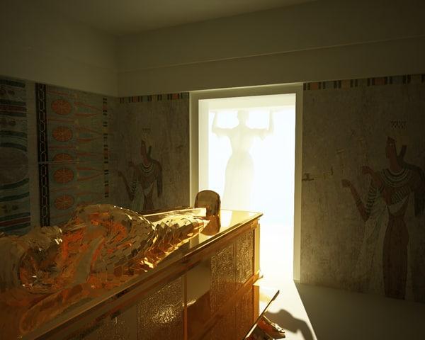 3d tomb mummy