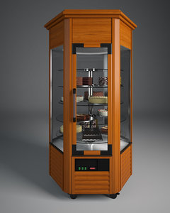 refrigerated display cabinet 3d model