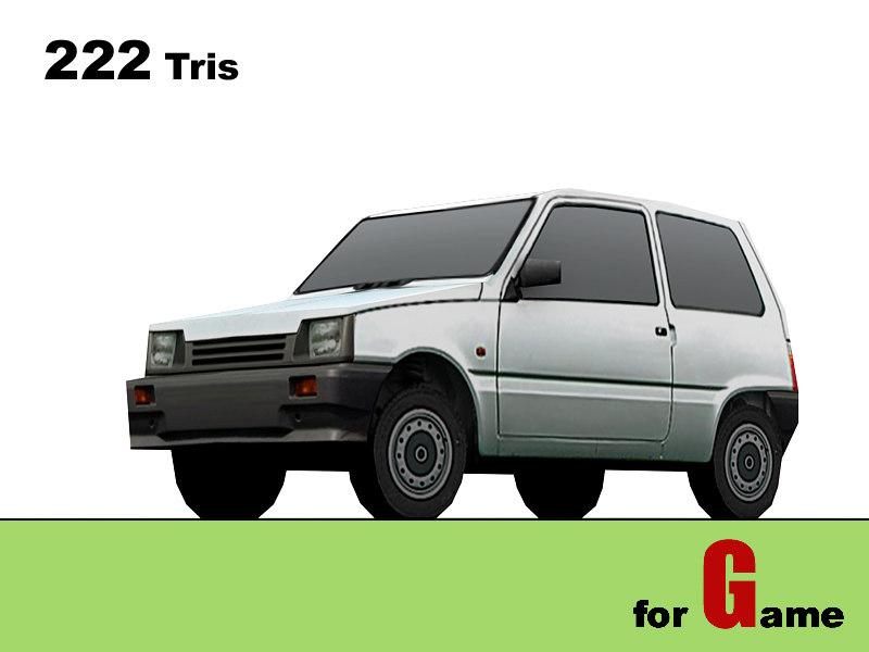 3d model seaz oka cars