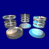 3ds max 40 tooth gear set
