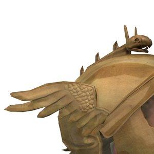 ancient greek helmet 3d model