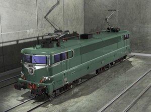 sncf green locomotive ma