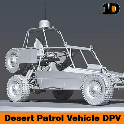 desert patrol vehicle dpv 3d model