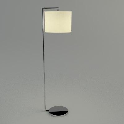 maya floor lamp - materials