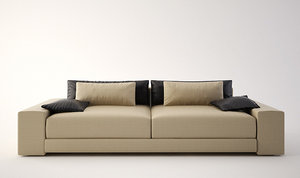 3d model sofa ligne roset