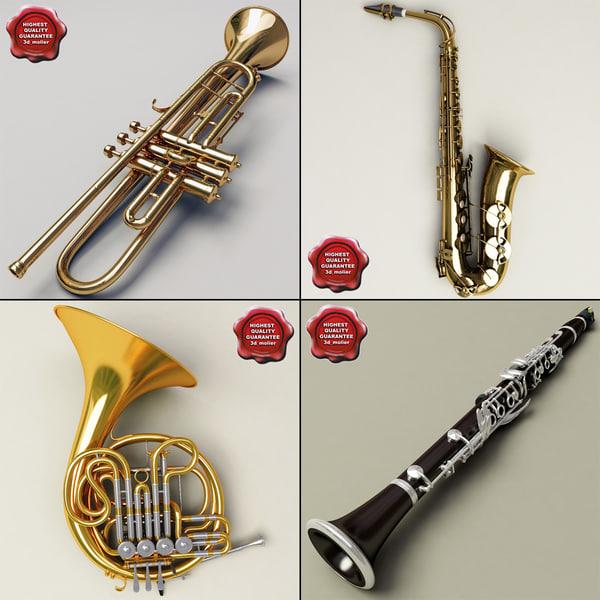 c4d music instruments v5