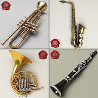 Music Instruments Collection V5