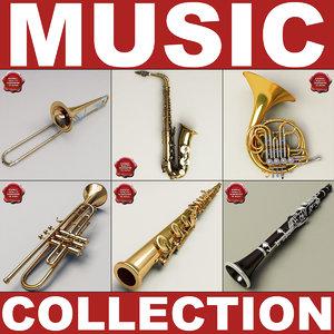 music instruments v6 3d 3ds