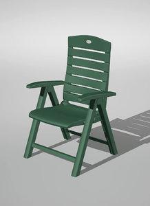 3d lwo garden chair