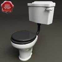 toilet v3 3d model
