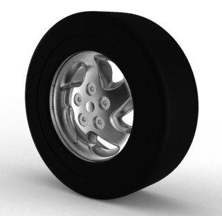 free max model car wheel