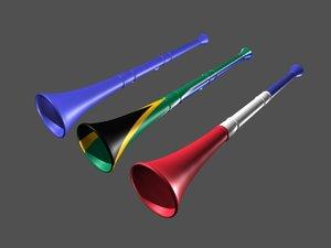vuvuzela soccer world 3d max