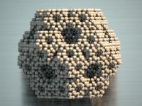 3d procedurally dodecahedron