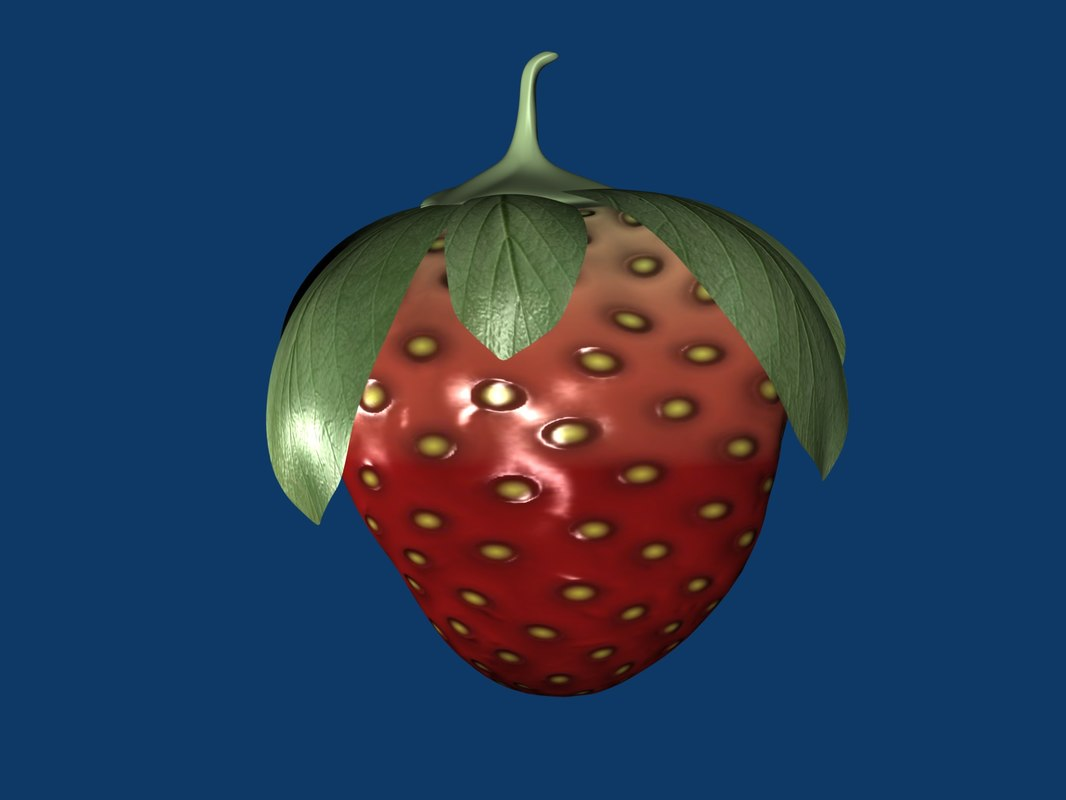 3ds max strawberry specular bump