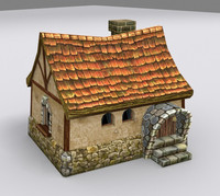 medieval fantasy country house max