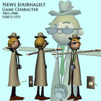 News Man journalist reporter
