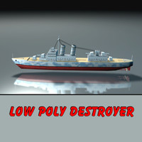 Warship Destroyer (Ship of War)