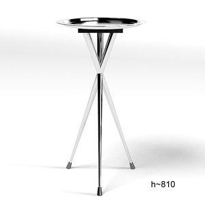 maletti colors table 3d model