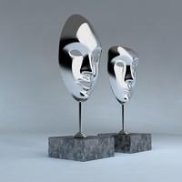 3d 2 masks - model