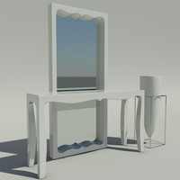 fusion furniture 3d model