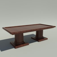 conference table 3d max